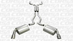 Corsa Performance 14956 Sport Cat back Exhaust System Fits 10 13 Camaro