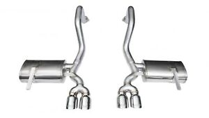 Corsa Performance 14132 Xtreme Axle back Exhaust System Fits 97 04 Corvette