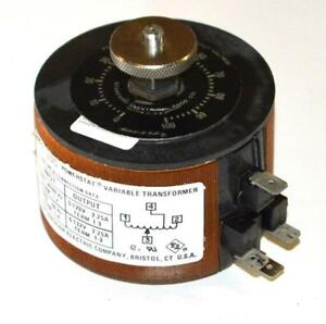 Superior Electric Powerstat Type 10c Variable Transformer 120 Vac 2 25 Amps