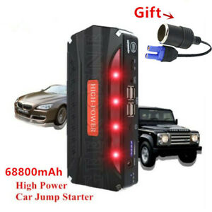 12v Car Jump Starter Starter Cables Chargers Jumpers Power Bank Starting Device