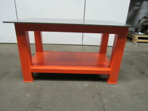 H d 1 2 Thick Top Steel Fabrication Layout Welding Table Work Bench 59 X 35