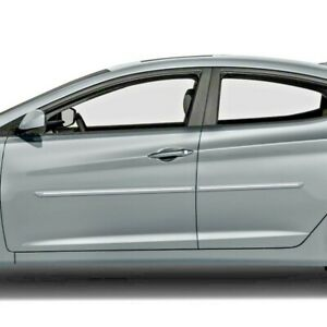Painted Body Side Moldings With Chrome Insert For Hyundai Elantra 2007 2020
