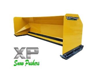 10 Jrb 416 Snow Pusher Box For Backhoe Loader Express Snow Pusher Local Pick Up
