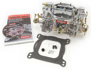 Reman Edelbrock 1405 600 Cfm Square Bore Carburetor Manual Choke