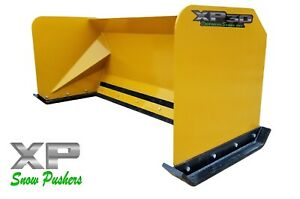 6 Xp30 Cat Yellow Snow Pusher Skid Steer Loader Local Pick Up