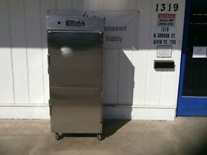 Carter hoffmann Stainless Steel Warming Cabinet W casters 2957