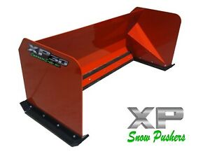 6 Xp30 Kubota Orange Snow Pusher Skid Steer Loader Local Pickup