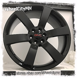 20 Inch Gloss Black Chevrolet Trailblazer Ss Oe Replica Wheels Gmc Envoy 6x5
