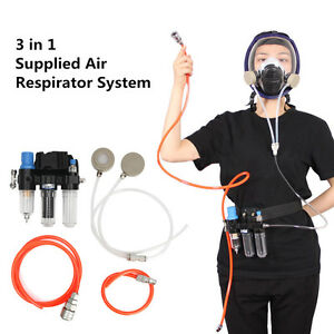 3m6800 3 In 1 Supplied Air Fed Respirator Function System For Full Face Gas Mask