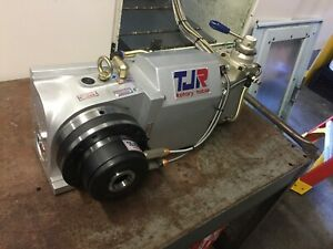 Cnc Tjr 125mm 5 4th axis Rotary Table W 5c Collet Chuck free Shipping