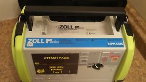 Zoll M Series Biphasic 200 Joules Defib Ecg Aed Analyze Printer Extreme Pack