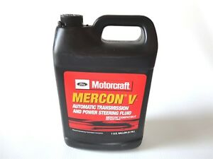 New Motorcraft Xt5gm Mercon V 1 Gallon Transmission Fluid Fits Ford Vehicles
