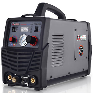 Cts 200 50a Plasma Cutter 200a Tig torch stick Arc Welder 3 in 1 Combo Welding