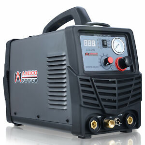Amico Cts 200 50 Amp Plasma Cutter 200a Tig stick Welder 3 in 1 Multifunction