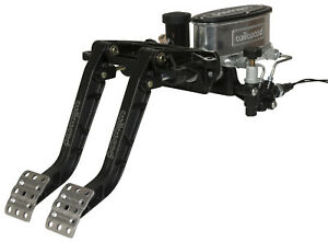 Wilwood Forward Swing Brake Clutch Pedal Set With Master Cylinders 7 1 Pedals
