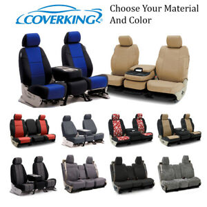 Coverking Custom Front And Rear Seat Covers For Chevrolet Truck Suvs
