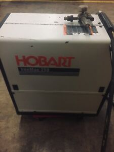 Hobart Ironman 230 Heavy Duty Mig Welder Dc Flux Core Mig 0 035 In For Max Wire