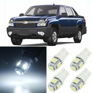19 X Xenon White Interior Led Lights Package For 2002 2006 Chevy Avalanche Tool