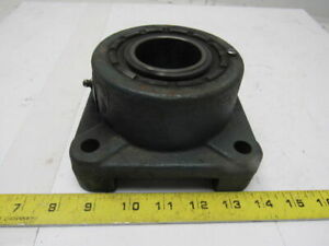 Rexnord Zef2200 2 Bore Flange Block Self Aligning Spherical Roller Bearing