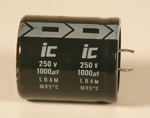 Capacitor Electrolytic 1000 Mfd 250 V 100 Pieces