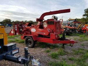 Morbark Twister 2070xl 10 Chipper Diesel Towable Auto Feed One Owner