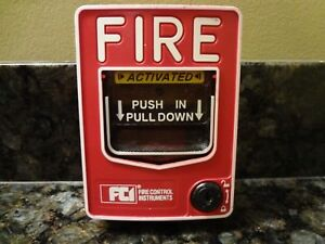 Fci Ms 7a Pull Station Fire Alarm Free Shipping
