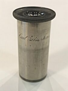 Carl Zeiss Jena Eyepiece Vintage Microscope Eyepiece Collector Global