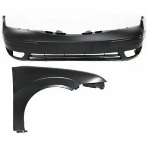 New Auto Body Repairs Set Of 2 Front Ford Focus 2005 2007 Pair