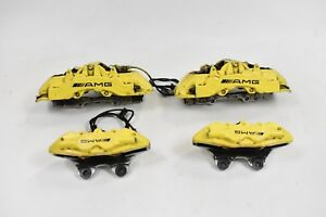06 09 Mercedes Cls55 Cls63 Brembo Big Brake Caliper Set Kit Front Rear Yellow