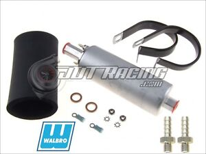 Genuine Gsl392 Walbro Ti 255lph Inline High Pressure Fuel Pump W Install Kit