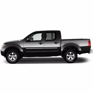 Body Side Moldings Chrome Trim Mouldings For Nissan Frontier Crew Cab 2005 2018