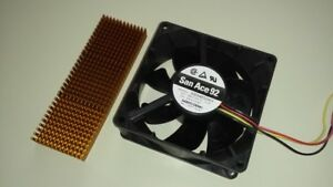 Cooling Kit For Gecko G540 Cnc Driver Includes Heatsink And 48v Fan