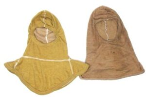 Firefighter Nomex Hood Tan Pre owned One Size Turnout Lot Of 2 c11