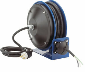 Coxreels Pc10 3016 x Power Cord Reel With 30 Of 16 Ga Cord Flying Lead End