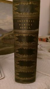 Imperial Family Bible 1844 Full Folio 14in 1st Of The Series With 40 Prints