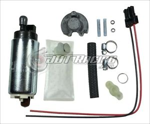 Walbro 255lph Hp Fuel Pump Gss341 Install Kit 90 93 Integra 88 91 Civic Crx