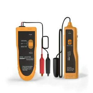 Kolsol F02 Underground Cable Wire Locator Tracker Lan With Earphone Easily Wires
