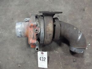 Allis Chalmers 190 Tractor Turbo Tag 432
