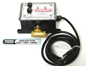 Electric Auto Drain 1 4 Npt 110v Timer Controlled Air Compressor Part oem