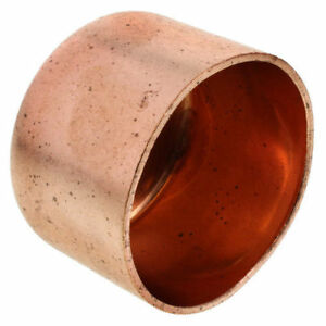 3 Copper Cap Sweat End Pipe Fitting Plumbing fit 3 1 8 Od Pipes