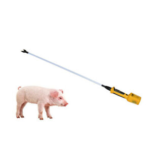 Hot shot Shaft 36 Inch Electric Livestock Prod For Pig Cattle With Battery New