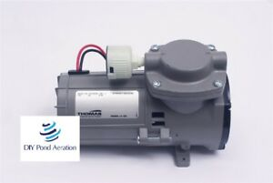 New Thomas 107cdc20 Compressor vacuum Pump 1 10 Hp 12v Brake Booster W Filter