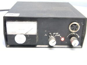 Televac B2a Type Portable Thermocouple Tc Gauge Controller W Battery Pack