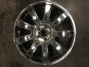Bentley Continental Wheel Rim 2012 19 Factory Chrome Rim Used 98406