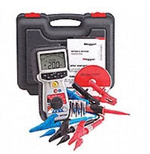Megger Mit2500 2 5kv High Voltage Hand held Insulation And Continuity Tester