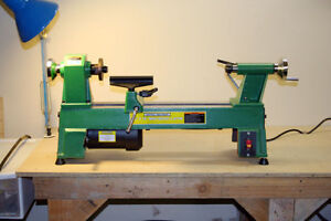 5 Speed Bench Top Wood Lathe 10 X 18 Heavy Duty Cast Iron Up To