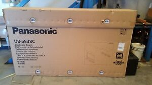 Panasonic Ub 5838c Interactive White Board New In Box
