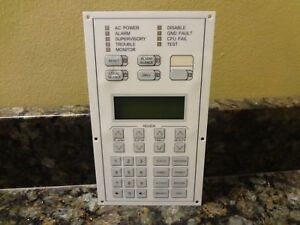 Est Edwards 2 lcd Fire Alarm Control Panel Ver 4 0 Free Shipping