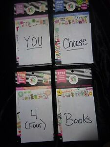 Lot Of 4 Happy Planner Sticker Books Over 20 Books You Choose The 4 You Want