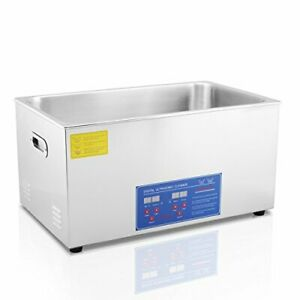 Hfs Commercial Grade Digital Ultrasonic Cleaner Stainless Steel 22l Capacity